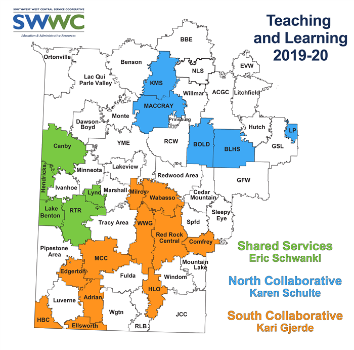 Teaching and Learning Service Map